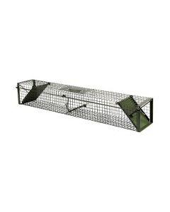 Vangkooi 100x17x17cm, 2 openingen groen