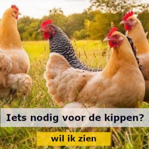 Iets nodig voor de kippen?